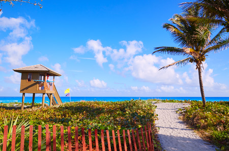 baywatch: Del Ray Delray beach in Florida USA baywatch tower Editorial