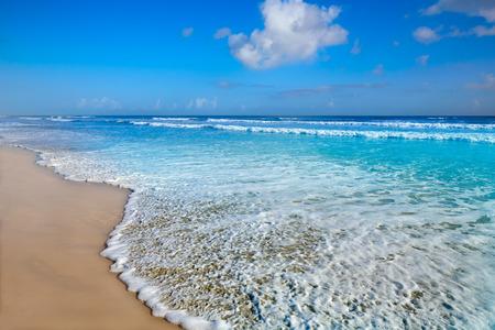 Daytona Beach in Florida kust golven van de VS Stockfoto