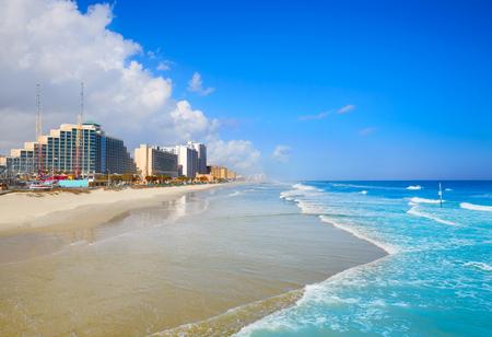florida beach: Daytona Beach in Florida coastline of USA