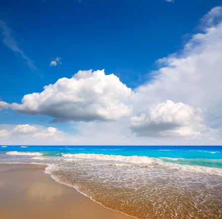 Palm Beach beach coastline in Florida USA Stock Photo