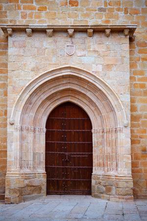 santa maria: Caceres Concatedral Santa Maria church in Spain Extremadura