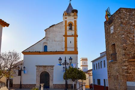 Almaden de la Plata by Via de la Plata Way of Spain in Andalusia