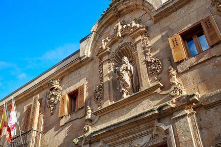 Civil war archive in Salamanca facade of Spain Stock Photo
