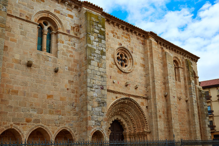 magdalena: Zamora Santa Maria Magdalena church Spain by Via de la Plata way to Santiago