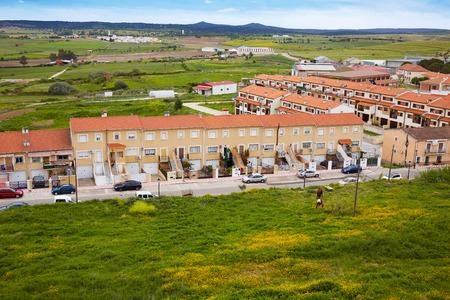 way of st james: Galisteo village in Caceres of Extremadura Spain by the Via de la Plata way