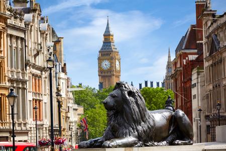 London Trafalgar Square in het Verenigd Koninkrijk Engeland