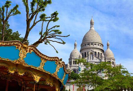 sacre coeur: Sacre Coeur Basilique Montmartre Paris France