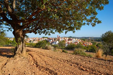 Losa del Obispo village in Valencia at Los Serranos Area of Spain