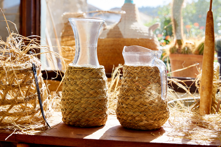 basketry: Esparto halfah grass used for crafts as cords basketry and espadrilles
