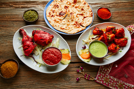 Chicken Tandoori and Chicken Tikka indian food recipes