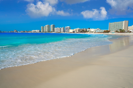 Cancun Forum beach Playa Gaviota Azul in Mexico