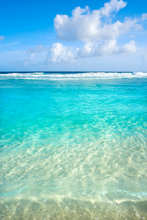 playa: Caribbean turquoise beach clean waters and white sand
