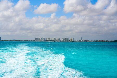 Puerto Juarez port in Cancun at Riviera Maya of Mexico
