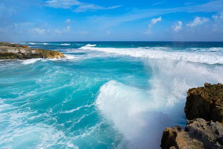 Cozumel island El Mirador beach in Riviera Maya of Mexico