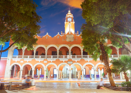 Merida city Town hall of Yucatan in Mexico