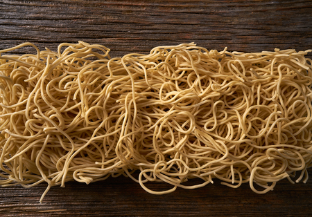 Chow mein noodles asian pasta macro texture