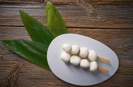 Asian glutinous rice Sticky Dumplings Vietnamese Banh It Tran mochi