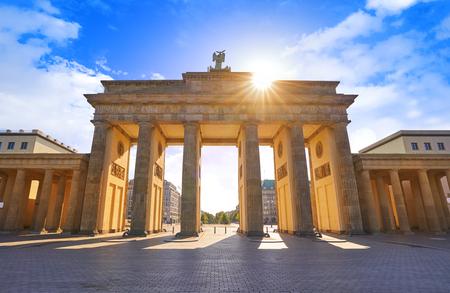 Berlin Brandenburg Gate Brandenburger Tor in Germany