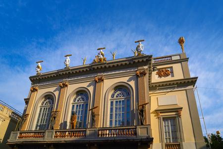 Salvador Dali museum in Figueres figueras of Catalonia Spain Archivio Fotografico - 101774827
