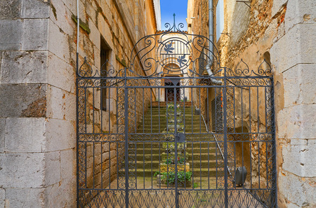 Figueres cathedral San Pere in Catalonia Spain Stock Photo