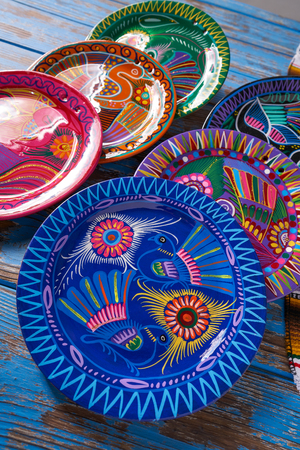 Mexican pottery traditional crafts in Mexico