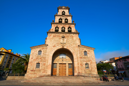 Cangas de Onis Asuncion church in Asturias of Spain
