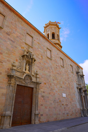 El Salavador church in Burriana of Castellon also Borriana
