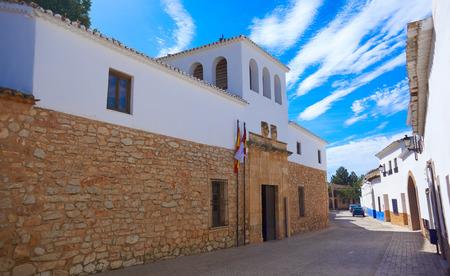 El Toboso Dulcinea house from El Quijote in Toledo of La Mancha Spain Foto de archivo