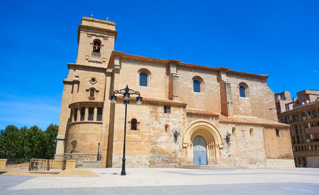 Albacete church in Castile La Mancha of Spain by Sait James Way of Levante