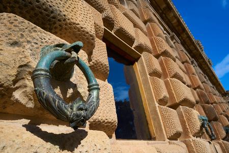 Águila de la Alhambra sosteniendo el anillo en Carlos V de Granada España