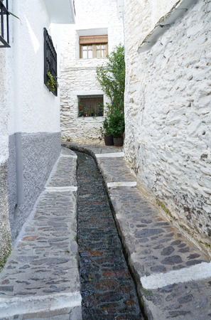 Alpujarras in Granada at Pampaneira village of Andalusia Spain Imagens