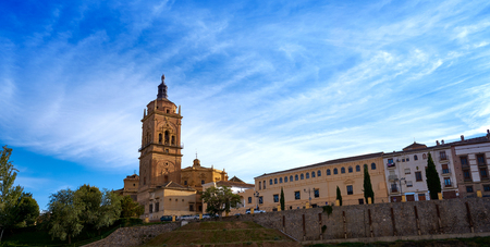 Guadix Cathedral in Granada Spain at Andalusia