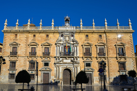 Granada Royal Jail and Chancellery in Spain of Andalusia Imagens