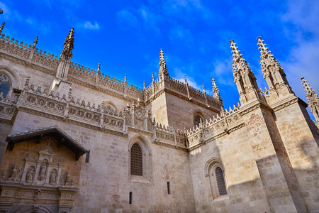 Granada Cathedral Royal Capilla area in Spain at Andalusia
