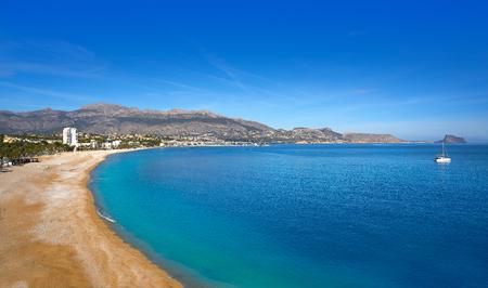 Albir beach in Alfas del Pi of Alicante Spain at Costa Blanca Фото со стока - 115781334