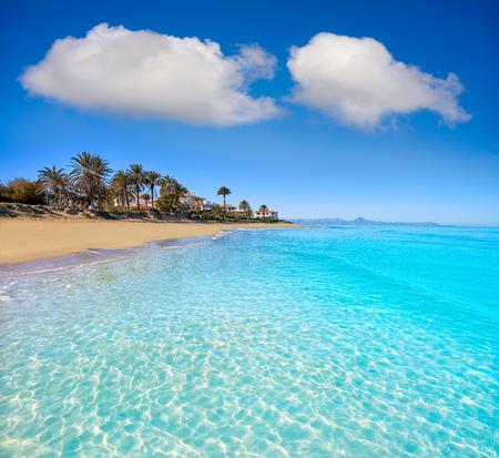 Denia las Marinas les Bovetes beach in Alicante of Spain Фото со стока - 115796775