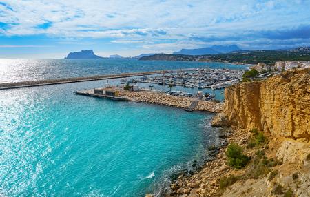 Moraira beach Portitxolet in Alicante at Teulada village of Spain Фото со стока - 115798431