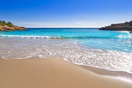 Ametlla de mar Cala Vidre beach in Costa dorada of Tarragona in Catalonia L'ametlla