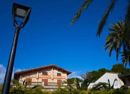 Villa Gens herritage houses in Benicassim shoreline of Castellon Spain also Benicasim