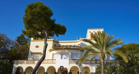 Villa Elisa herritage houses in Benicassim shoreline of Castellon Spain also Benicasim