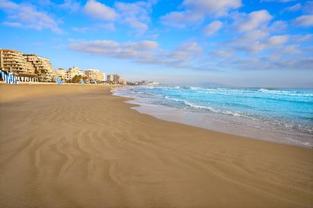 Playa Morro de Gos beach in Oropesa del Mar of Castellon Spain Banco de Imagens