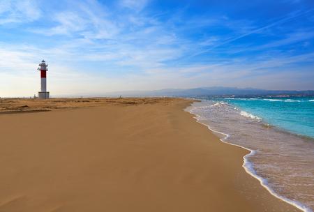 Delta del Ebro Ebre beach Punta del Fangar in Tarragona Costa Dorada Deltebre