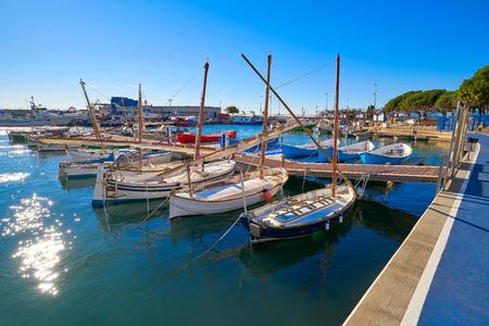 Cambrils Port marina in Tarragona province of Catalonia