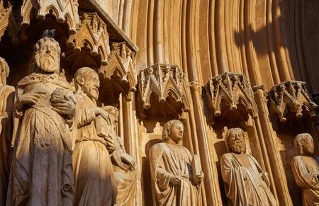 Tarragona Cathedral basilica in Catalonia of Spain 版權商用圖片