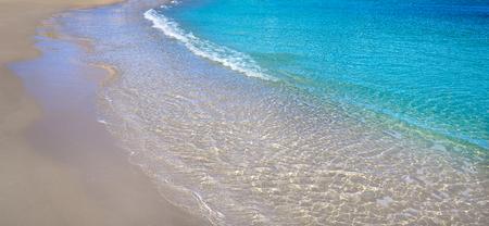 Ametlla de mar Cala Sant Jordi beach in Costa dorada of Tarragona Catalonia Lametlla