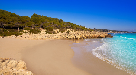 Tarragona Platja Los Capellanes in Costa Dorada of Catalonia Capellans