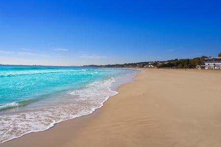 Tarragona Platja Llarga in Costa Dorada of Catalonia Playa Larga 版權商用圖片