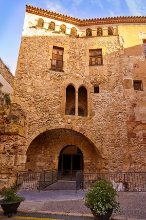 Tarragona Volta del Pallol in Catalonia Spain 版權商用圖片