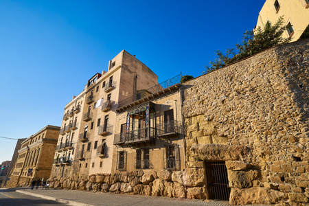 Sant Antoni promenade in Tarragona of Catalonia