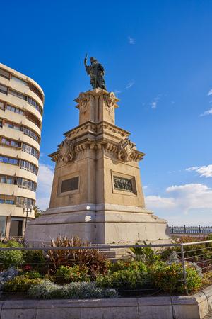 Tarragona Roger de Lauria memorial  at spain